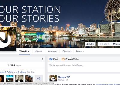 Novus Cable TV Online Communications Campaign