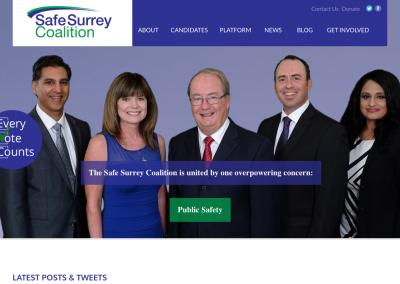 Safe Surrey Coalition – Campaign Communications