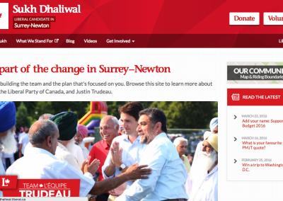 Federal Liberal Campaign Communications
