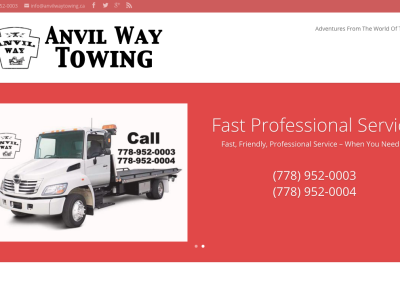 Anvil Way Towing Online Communications & Website