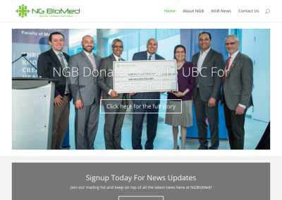 NG Biomed Online Communications Campaign